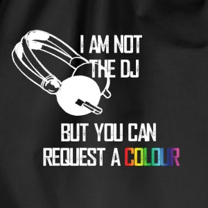 I_am_not_the_DJ_white - Gymbag