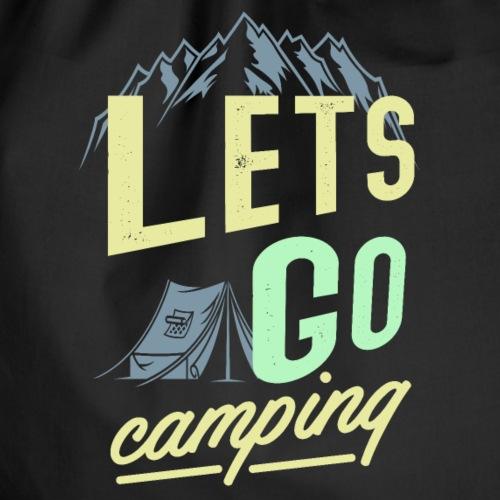 lets go camping - Camper T-Shirt
