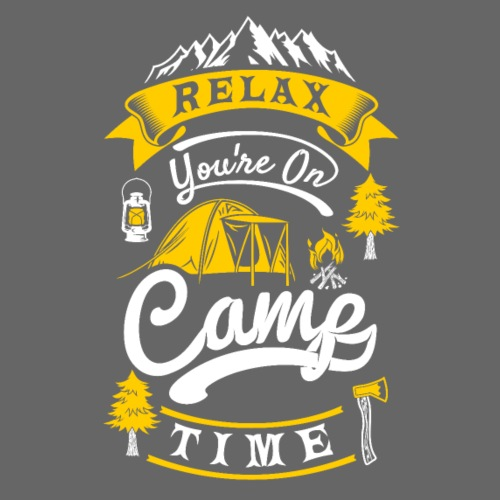 relax camp time - Camper T-Shirt - Turnbeutel