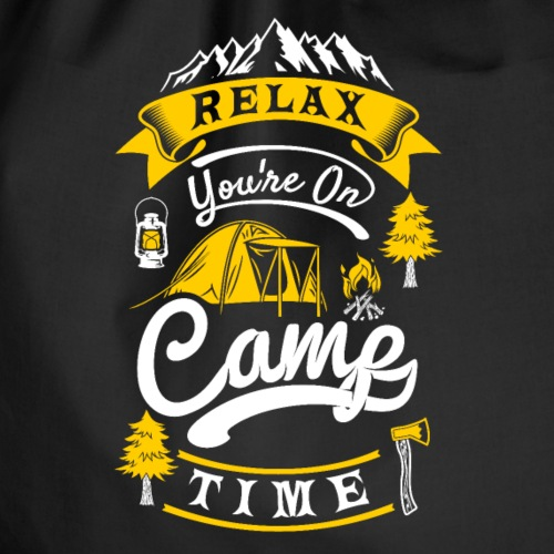 relax camp time - Camper T-Shirt