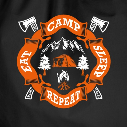 Eat Sleep Camp - Camper T-Shirt