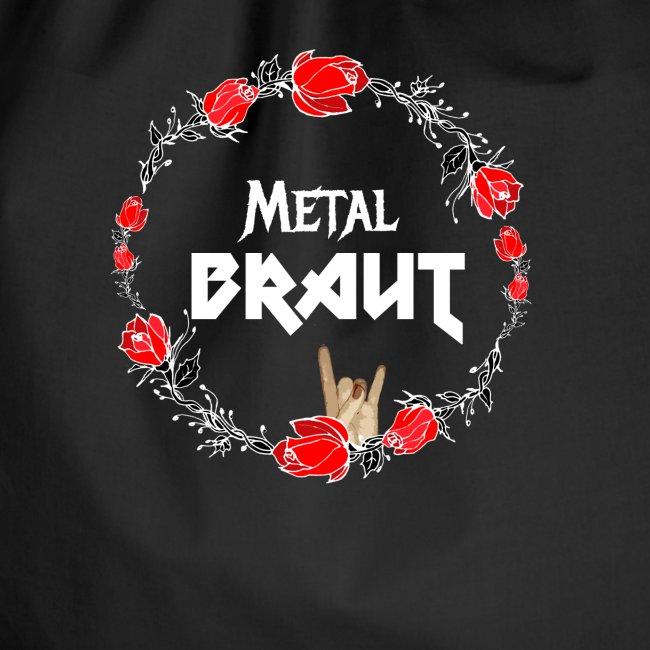 Metal Braut für den Junggesellinnenabschied