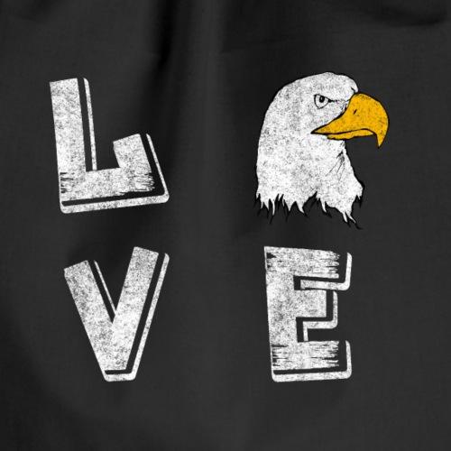 Alderkopf Adler Love Shirt - Turnbeutel