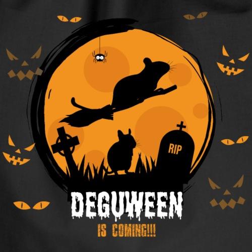 Degus | DEGUWEEN | Lustiges Halloween Deguhalter - Turnbeutel