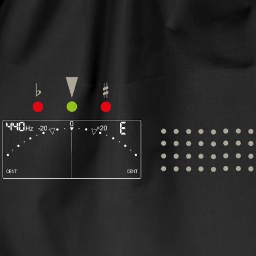 Stimmgerät Tuner Old School Gitarre Gitarrist - Drawstring Bag