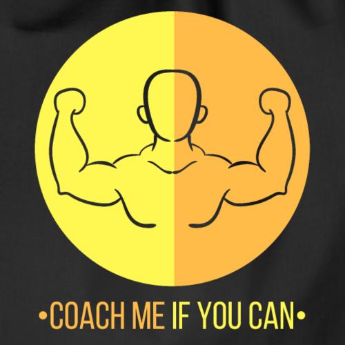 Muscle jaune orange - Sac de sport léger