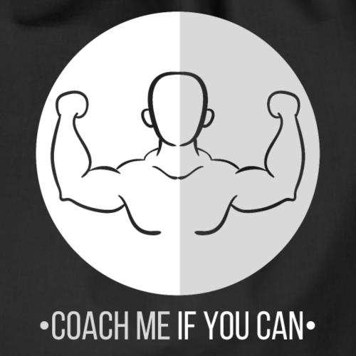 Muscle blanc/gris - Sac de sport léger