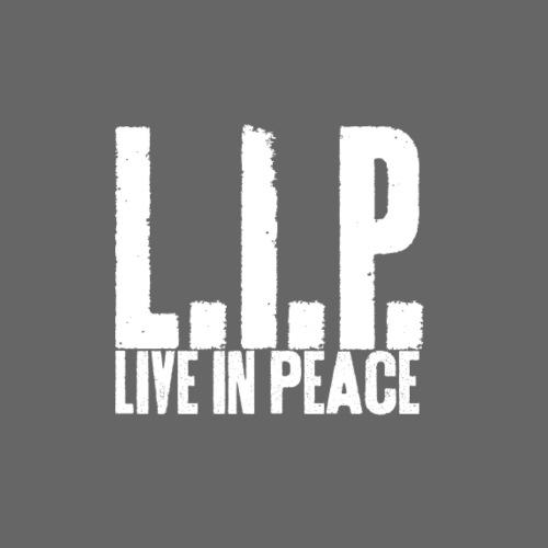 Live in peace - Turnbeutel