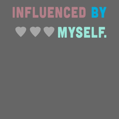 Influenced by myself - colorful - Turnbeutel