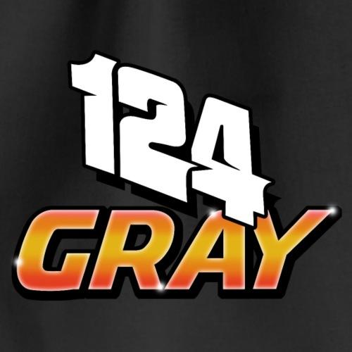 124 Kyle Gray Brisca 2019 Front & Back - Drawstring Bag