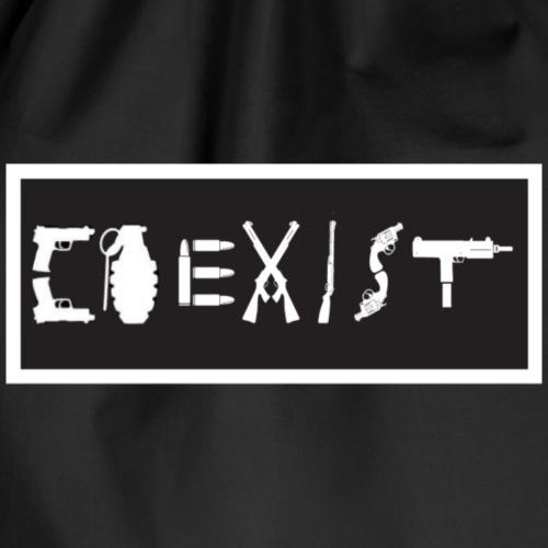 Coexist - Drawstring Bag