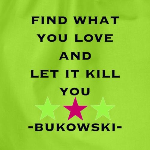 bukowski - Turnbeutel