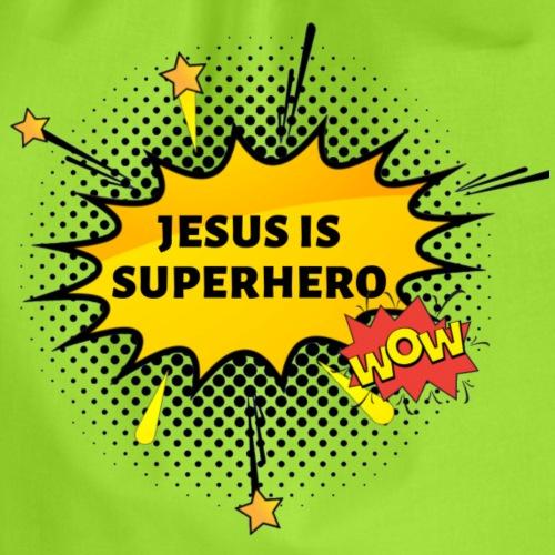 Jesus is Superhero! - Worek gimnastyczny