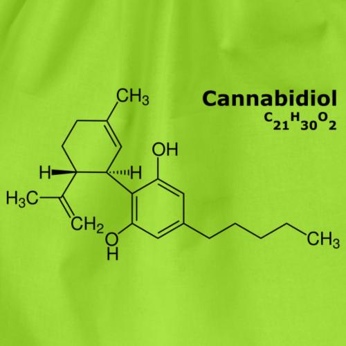 CBD Molekül - Turnbeutel