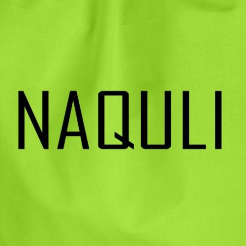 NAQULI Schriftzug - Turnbeutel