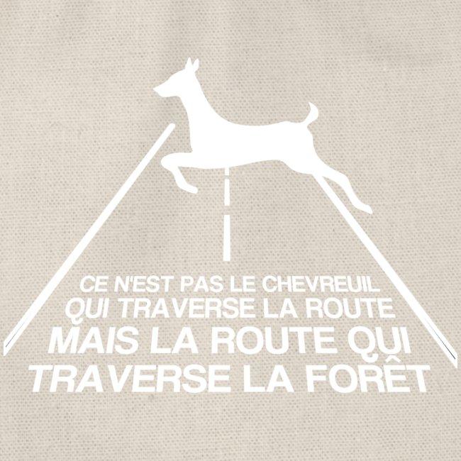 Chevreuil blanc