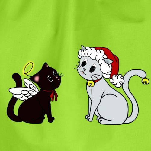 X-mas Kittys - Turnbeutel