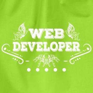 Web Developer Spinne - Turnbeutel