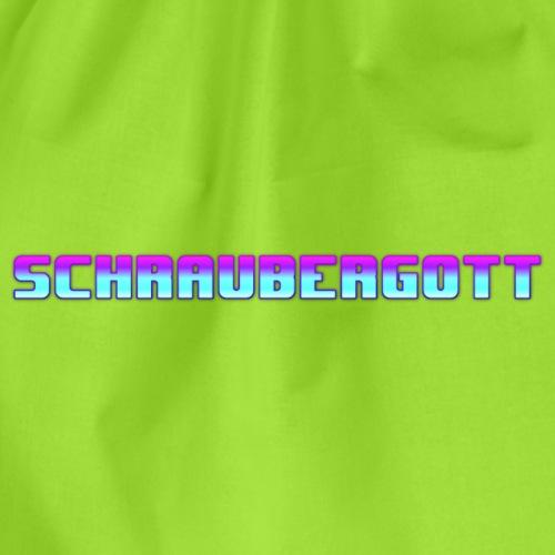 SchrauberGott farbig - Turnbeutel