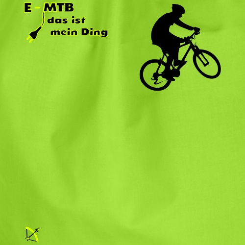 E MTB - Turnbeutel
