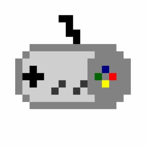 SNES Controller Retro - Turnbeutel