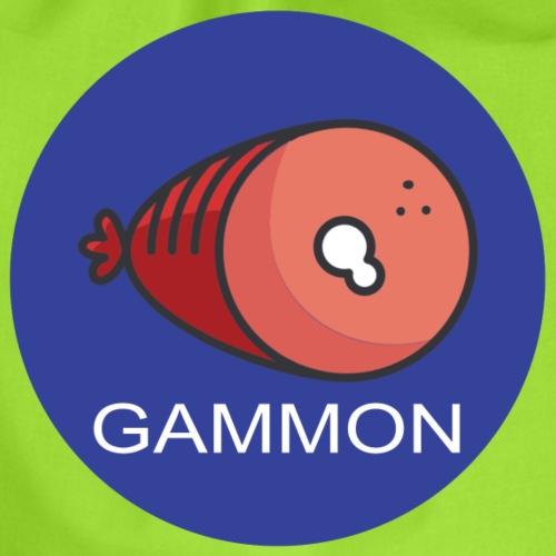 gammon design - Drawstring Bag