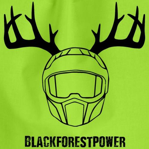 Blackforest Helm - schwarz - Turnbeutel