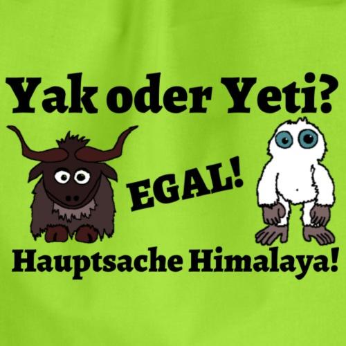 Yak oder Yeti - Turnbeutel