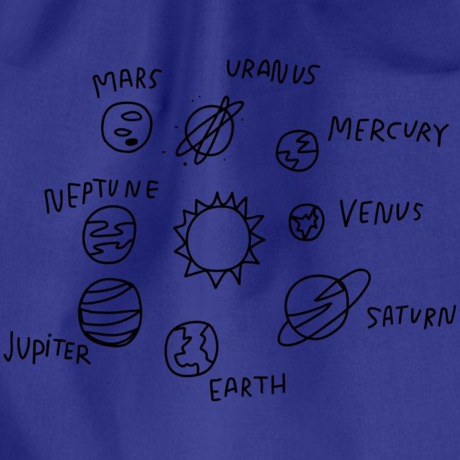 graphic solarsystem