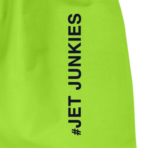Jet Junkies #Jet Junkies Verticle HASH - Drawstring Bag