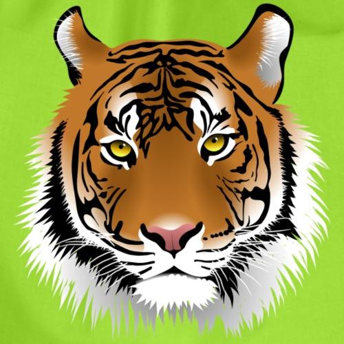 Tiger Kopf - Turnbeutel
