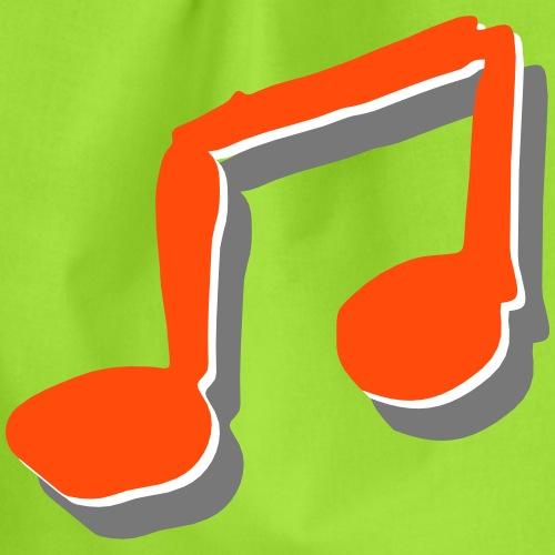 Liederpfarrer-Note - Turnbeutel
