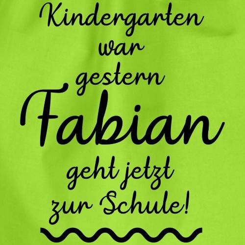 Kindergarten war gestern (Fabian) - Turnbeutel
