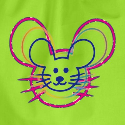 kleines Mausgesicht/Mäuse - Turnbeutel