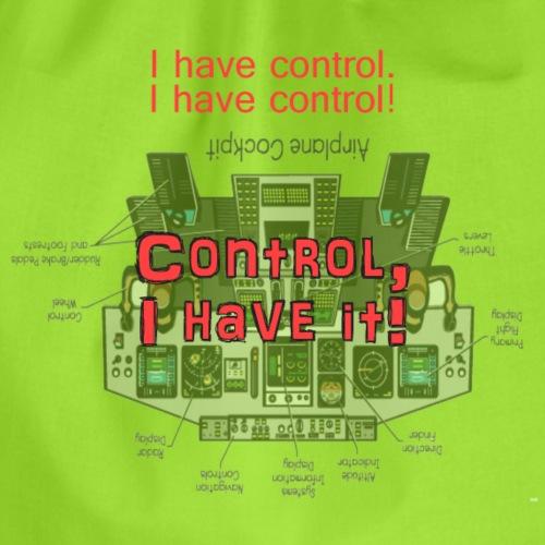 I have control - Turnbeutel