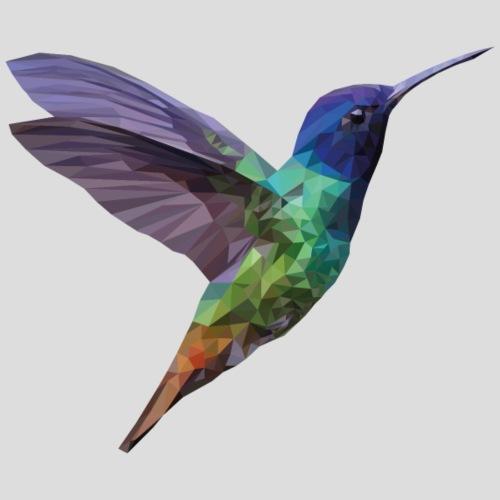 colibri low poly une rousse a la rescousse - Sac de sport léger