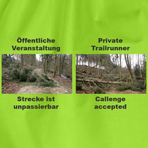 Trailrun Challenge - Turnbeutel