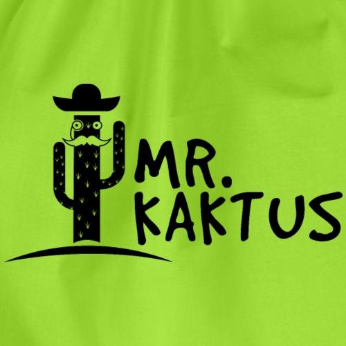 MR KAKTUS Logo - Turnbeutel