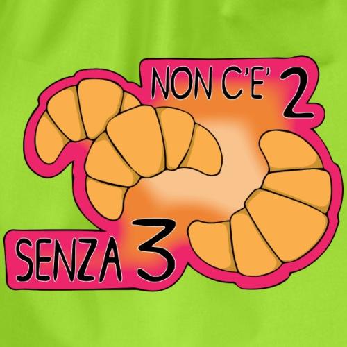 NONCE2SENZA3ROSA - Sacca sportiva