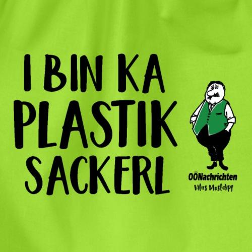 I bin ka Plastiksackerl - Turnbeutel