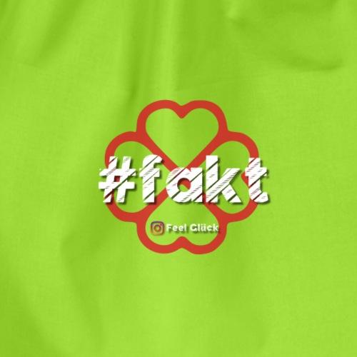 #fakt - Turnbeutel