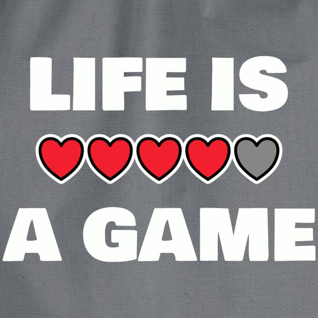 life is a game, White