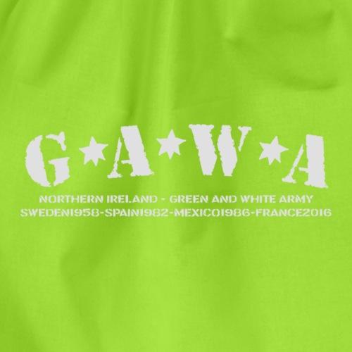 G*A*W*A - Drawstring Bag