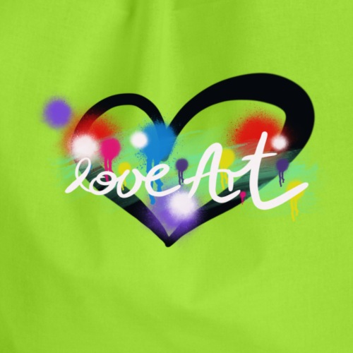 Love Art - Turnbeutel