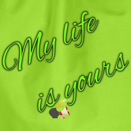 mi vida eres tu - Drawstring Bag