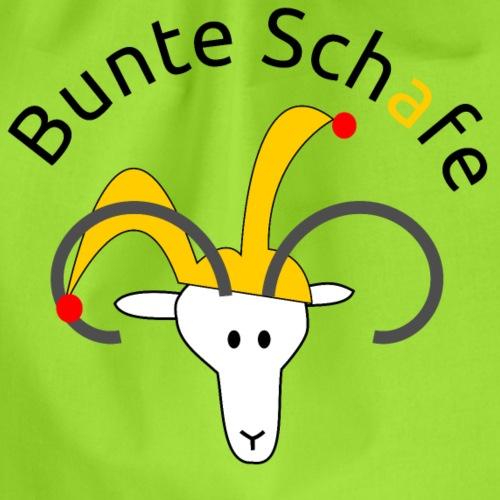 Bunte Schafe - Turnbeutel