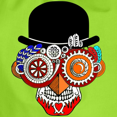 Steampunk Skull 1