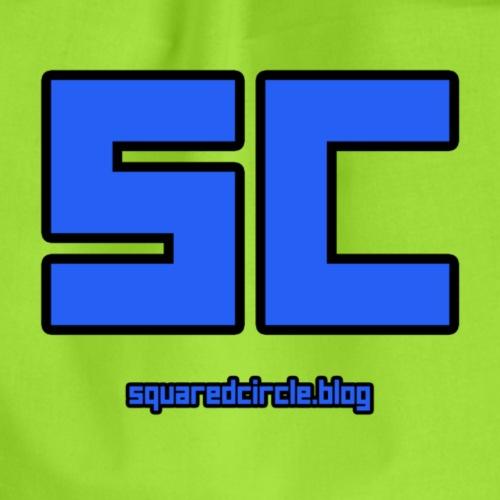 SquaredCircle Logo - Drawstring Bag