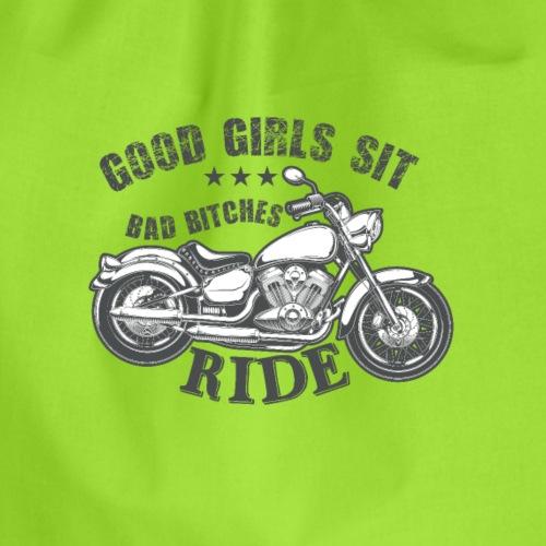 GOOD GIRLS SIT - Turnbeutel