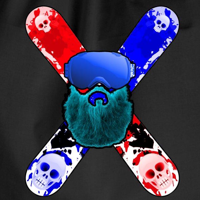 Snowboard beard